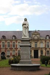 Marguerite de Constantinople fondatrice de l'hôpital de Seclin